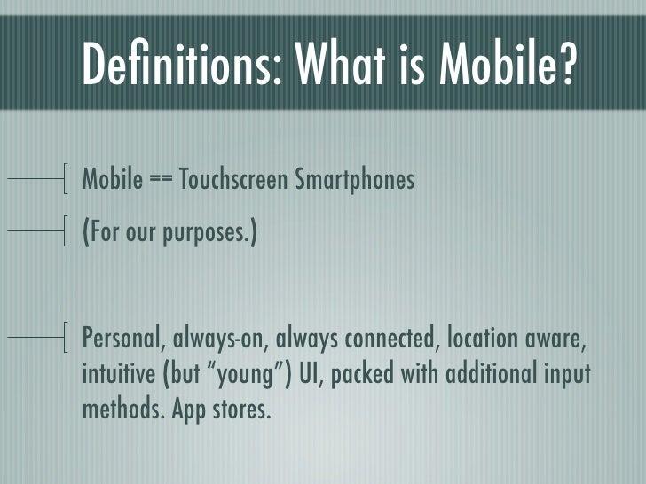Mobile game design Slide 3