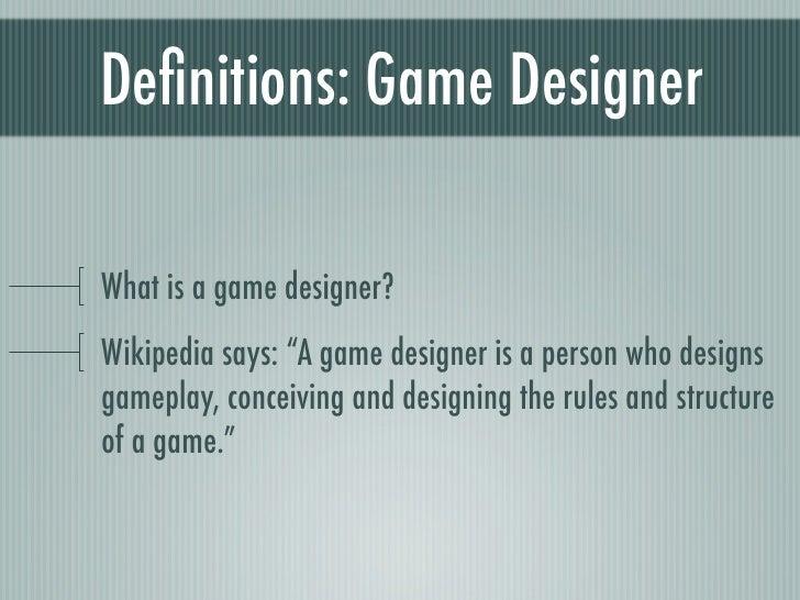 Mobile Game Design - Contoh game design document