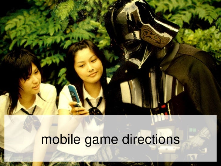 mobile game directions