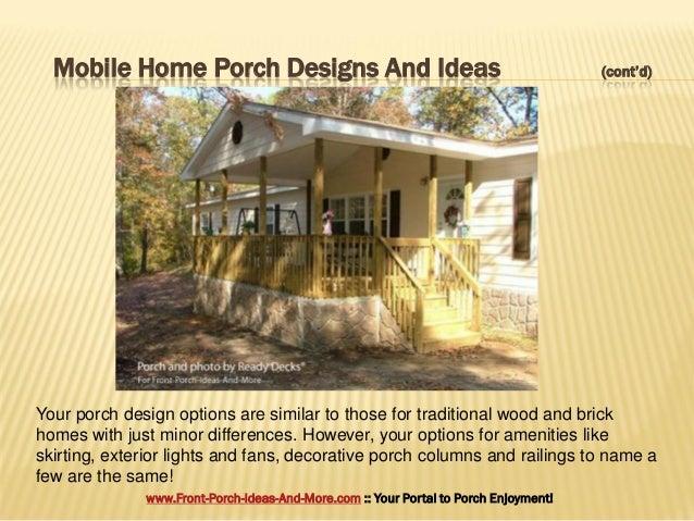3. Mobile Home Porch Designs And Ideas ...