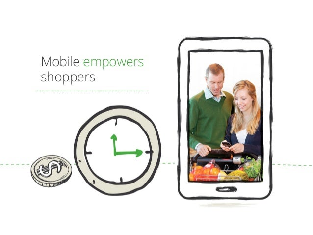 Mobile empowers shoppers