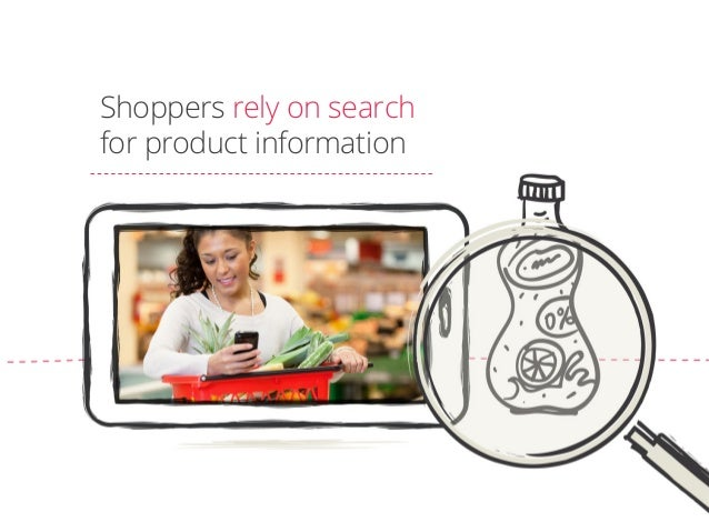 Shoppers rely on search for product information