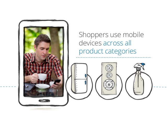 Shoppers use mobile devices across all product categories