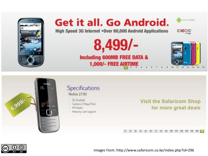 Images from: http://www.safaricom.co.ke/index.php?id=296