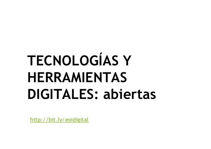 Mobile learning. EOI escuela digital. Tíscar Lara Slide 3