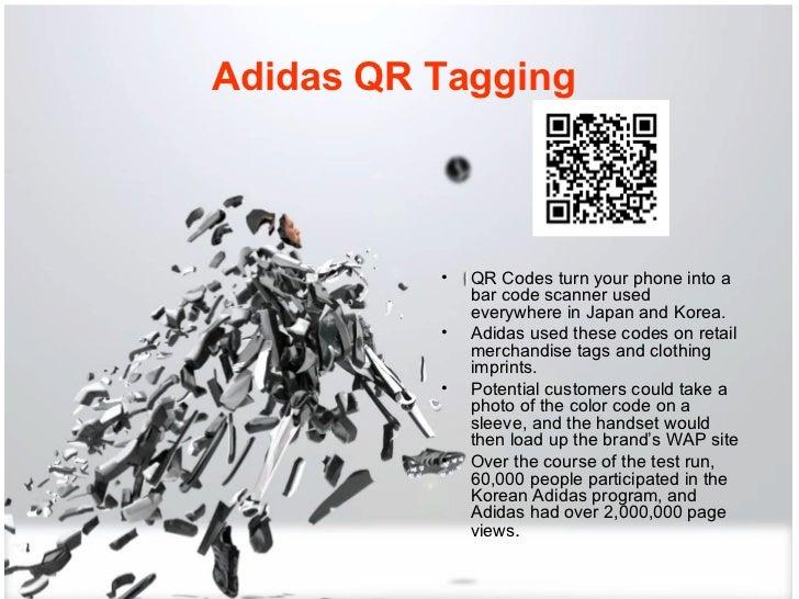 adidas qr code