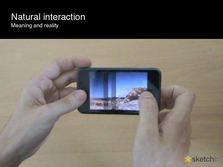 Mobile Natural Interaction Slide 3
