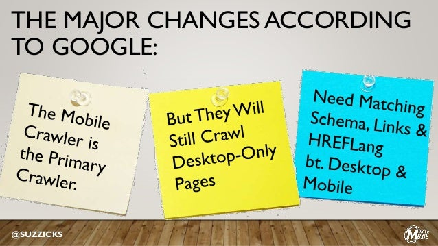 THE MAJOR CHANGES ACCORDING TO GOOGLE: @SUZZICKS