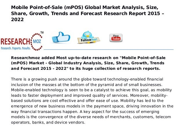 ... Size, Share, Growth, Trends and Forecast Research Report 2015 – 2022