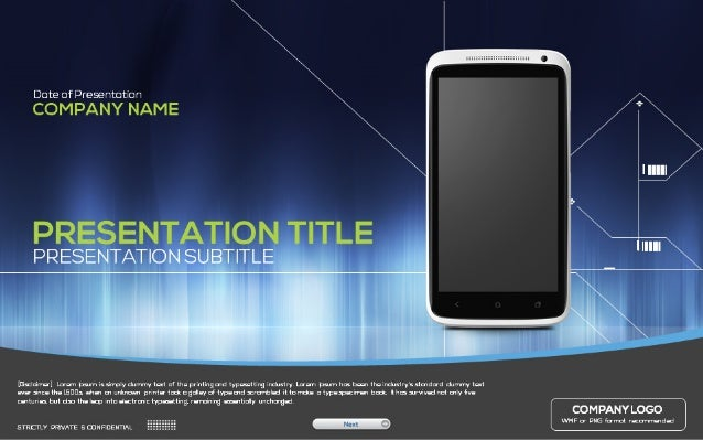 Powerpoint template mobile powerpoint template toneelgroepblik