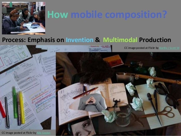 How mobile composition?Process: Emphasis on Invention & Multimodal Production                                             ...