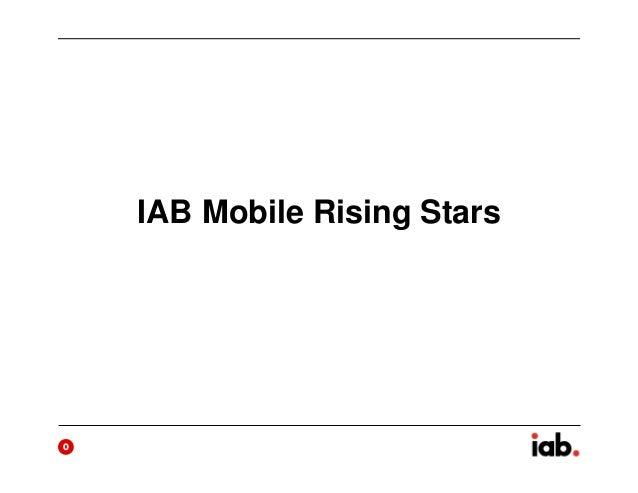IAB Mobile Rising Stars  0