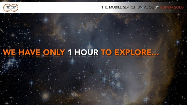 The Mobile Search Universe by @aleyda at #SMXMuenchen  Slide 3
