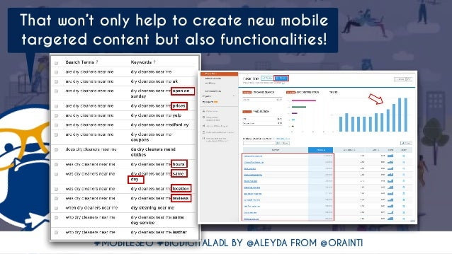 #MOBILESEO #BIGDIGITALADL BY @ALEYDA FROM @ORAINTI That won't only help to create new mobile targeted content but also fun...