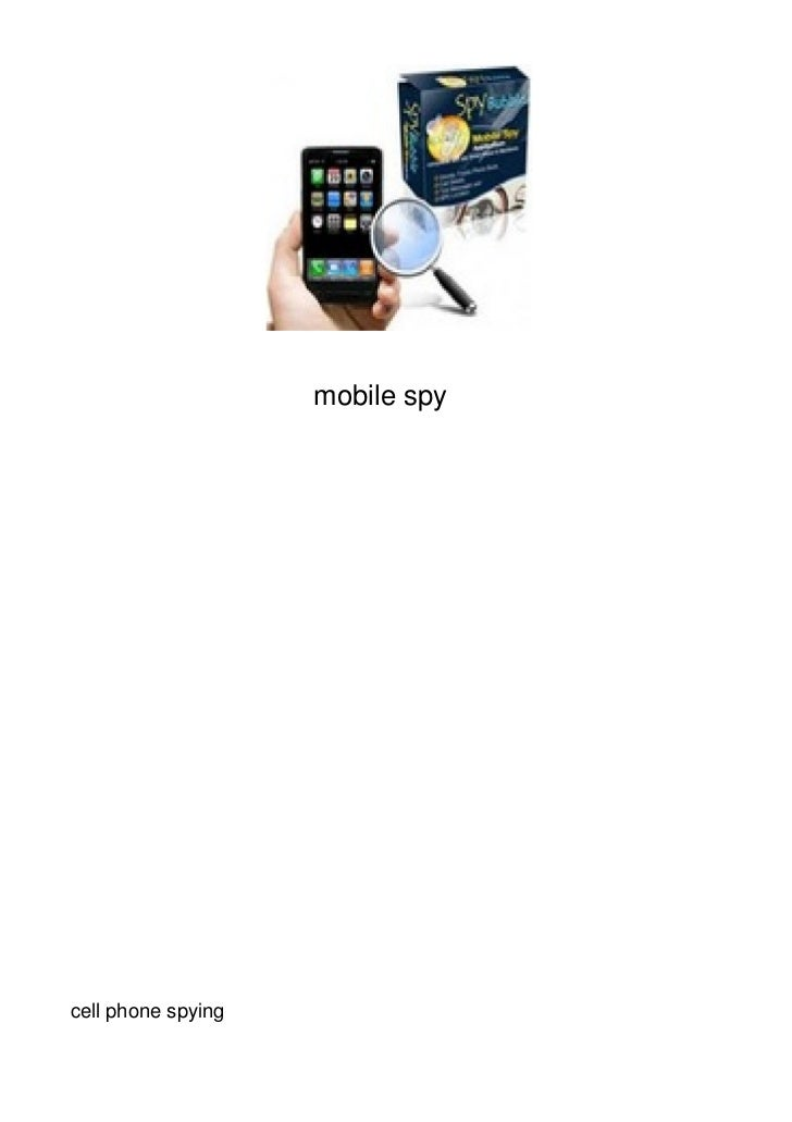 mobile spycell phone spying