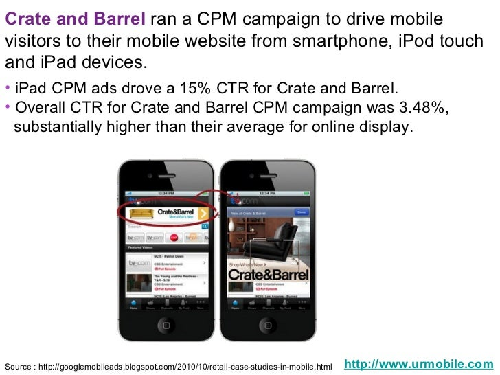 Mobile coupon case study