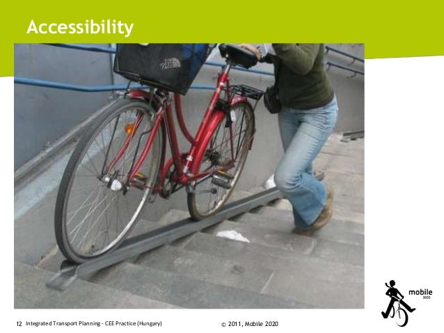 Accessibility  12 Integrated Transport Planning - CEE Practice (Hungary)  © 2011, Mobile 2020