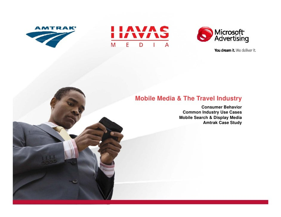Mobile Media & The Travel Industry                         Consumer Behavior                Common Industry Use Cases     ...
