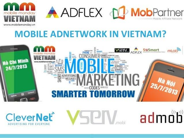MOBILE ADNETWORK IN VIETNAM?