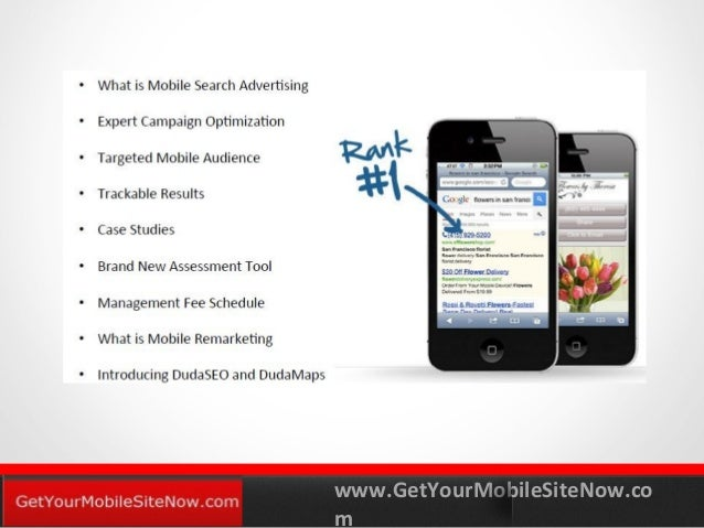 www.GetYourMobileSiteNow.co m YOURLOGO MOBILE MARKETING SOLUTIONS