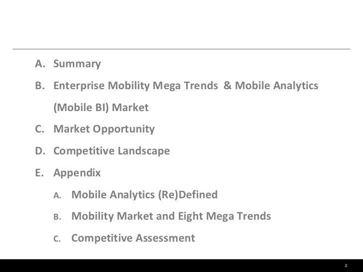 Mobile Analytics (Mobile BI) - A Game Changer  Slide 2