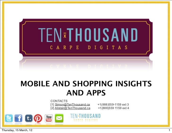 MOBILE AND SHOPPING INSIGHTS                      AND APPS                         CONTACTS                         [1] Si...