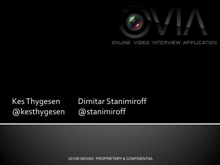 Kes Thygesen Dimitar Stanimiroff<br />@kesthygesen@stanimiroff<br />