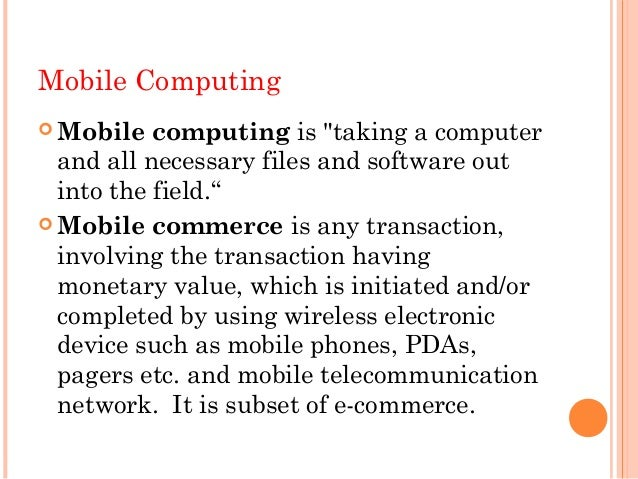 thesis on wireless and mobile computing Karnataka (prweb) with a growing demand for networking and communication research paper grid computing and mobile computing papers and thesis, wireless.