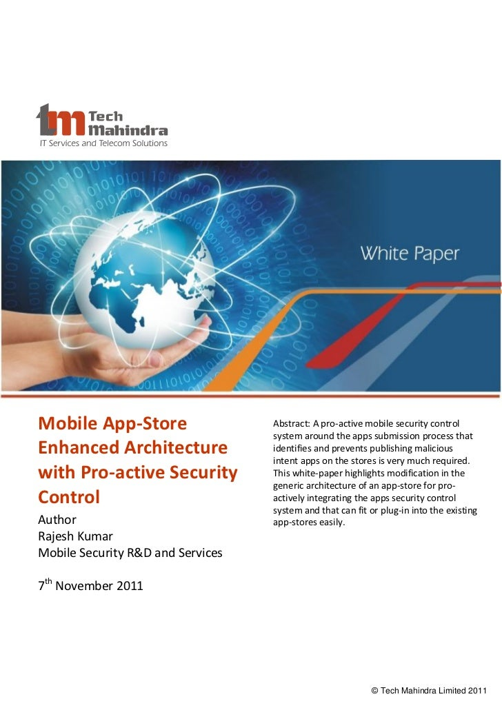 Mobile App-Store Enhanced Architecture with Pro-active ...