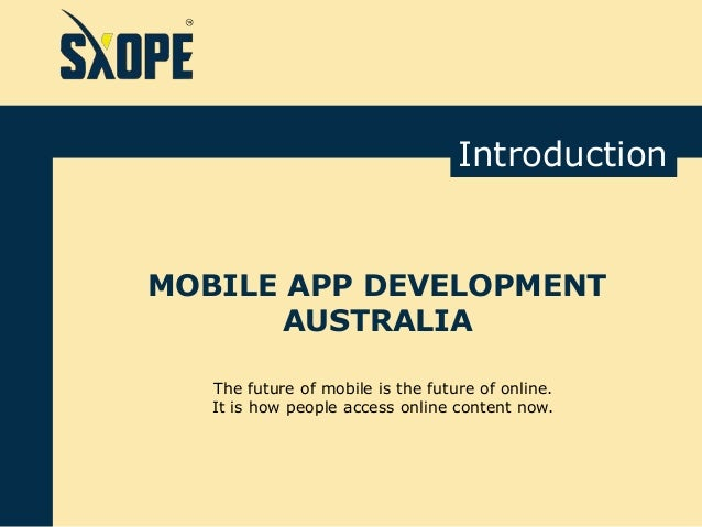 mobile application development companies in australia