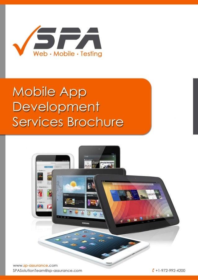 app brochures
