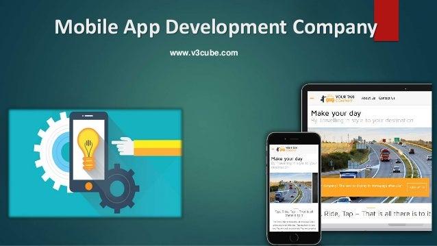 Mobile App Development Company www.v3cube.com