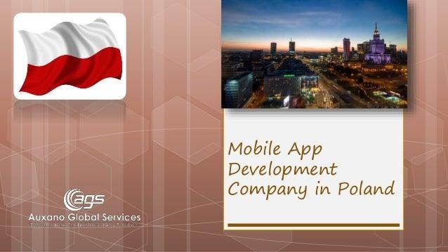 Mobile App Development Company in Poland