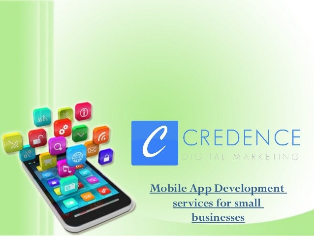 Mobile App Development services for small businesses