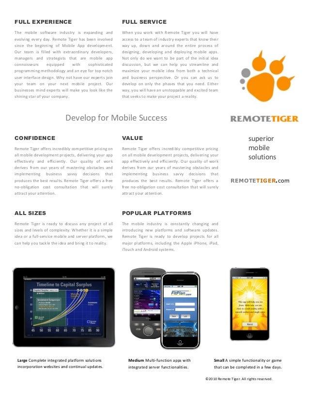 FULL EXPERIENCE                                                                               FULL SERVICEThe  mobile ...