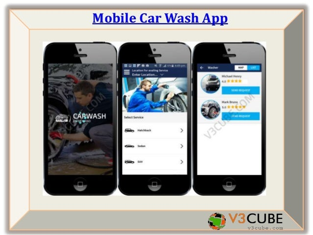 Launch Your Mobile Car Wash App Instantly