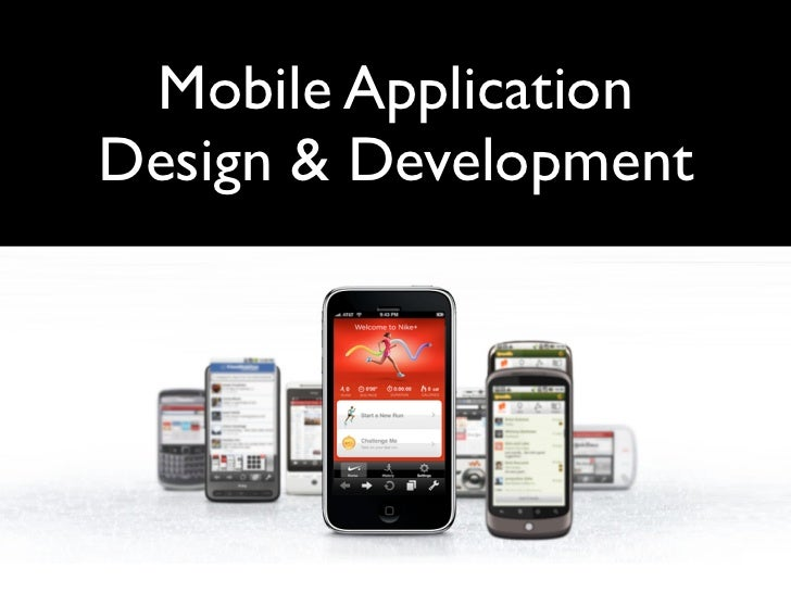 Mobile Application Design Philosophies