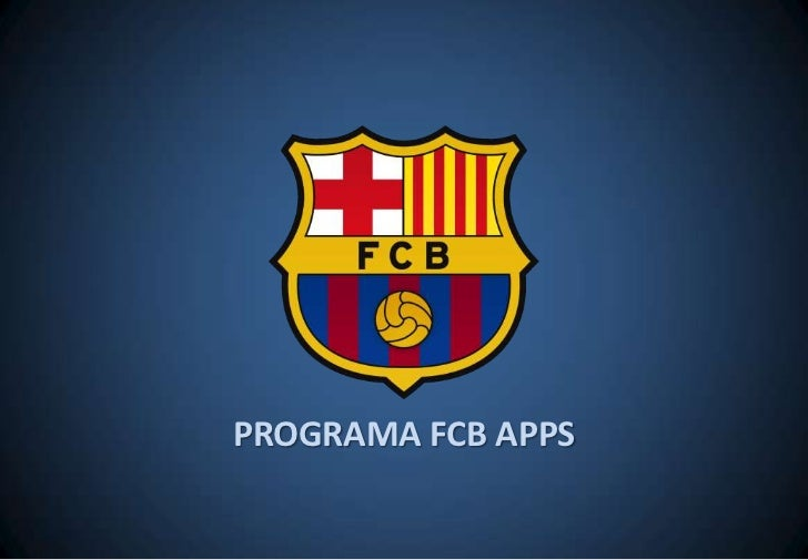 PROGRAMA FCB APPS