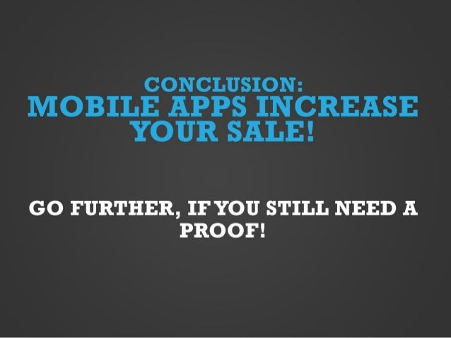 Mobile apps for your sale