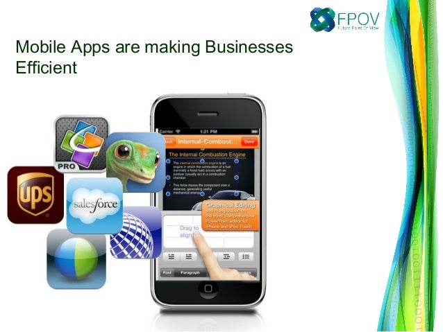 Mobile Apps are making BusinessesEfficient