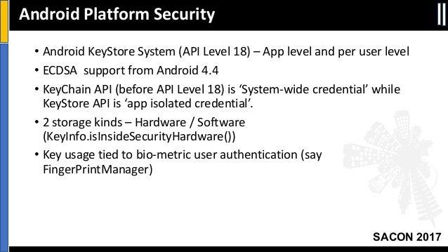 SACON - Mobile App Security (Srinath Venkataramani)