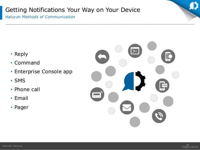 Mobile monitoring app
