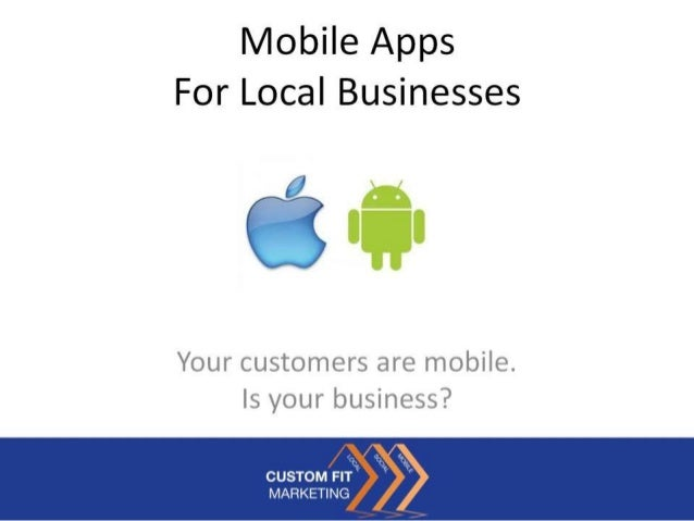 Mobile Apps For Local Businesses
