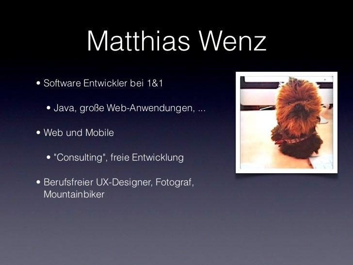 Mobile Apps für Designer Slide 2