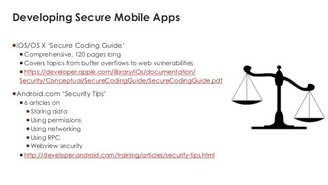 Mobile apps security  Beyond XSS, CSRF and SQLi