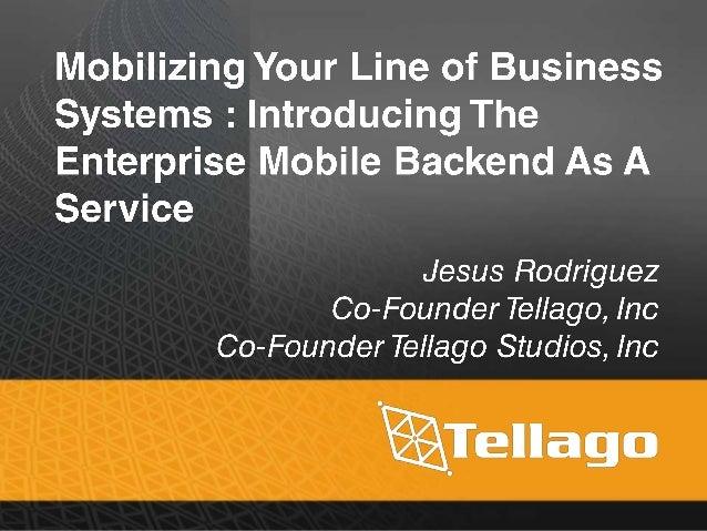 Enterprise Mobile BaaS