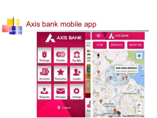 Axis bank mobile app