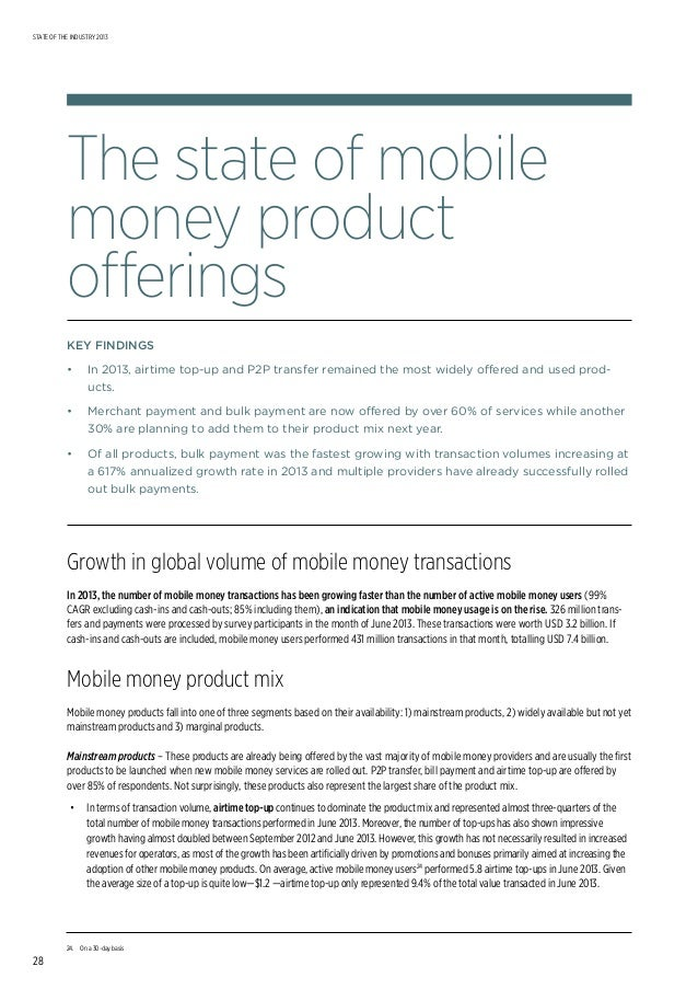 Mobile banking for the unbanked 2014