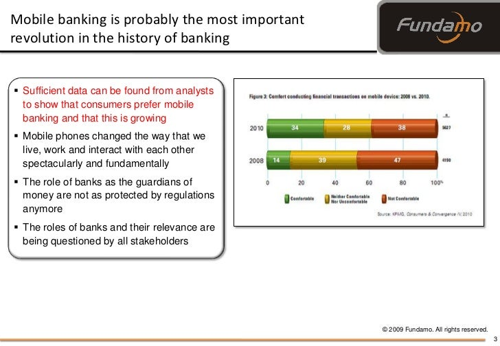 Mobile Banking Thoughts, webinar December 15, 2010 by Hannes van Rensburg Slide 3
