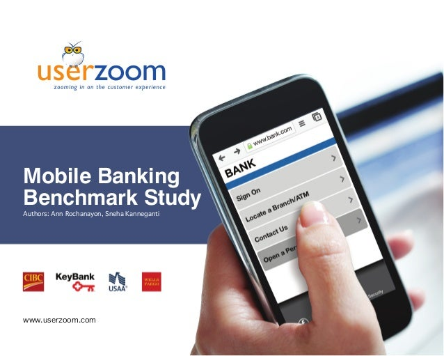 Quick Look - Mobile Banking UX Benchmark Study | UserZoom